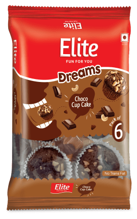 ELITE CUP CAKE CHOCO WITH REAL CASHEW