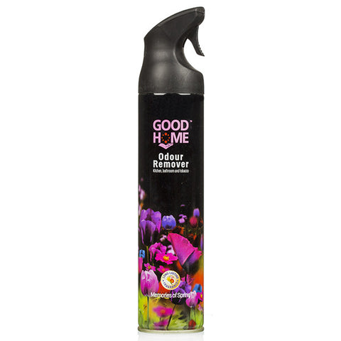GOOD HOME ODOUR REMOVER KITCHEN,BATHROOM& TOBACCO  MEMORIES OF SPRING