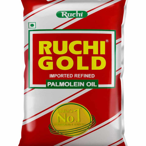 RUCHI GOLD IMPORTED REFINED PALMOLEIN OIL