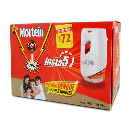 MORTEIN INSTA 5 WORKS IN 5  MINUTE MACHINE+REFILL