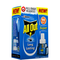 ALL OUT LIQUID VAPORIZER 90 NIGHTS