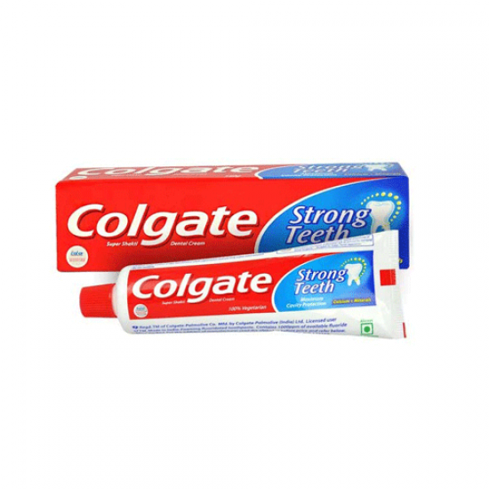 COLGATE STRONG TEETH WITH CAVITY PROTECT TOOTH PASTE