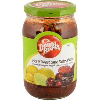 DOUBLE HORSE HOT & SWEAT LIME DATES PICKLE