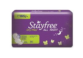 STAYFREE ALL NIGHT DRY XL 14PADS