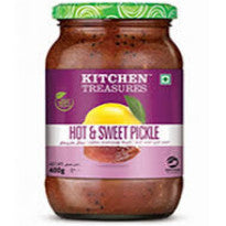 KITCHEN TREASURES HOT AND SWEAT PICKLE