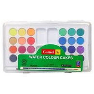 CAMLINE WATER COLOUR CAKES