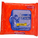 PREMIER ETIQUETTE WET WIPES ICY MINT