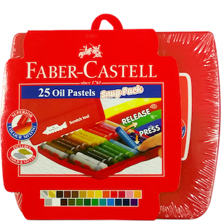 FABER CASTELL 25 OIL PASTELS