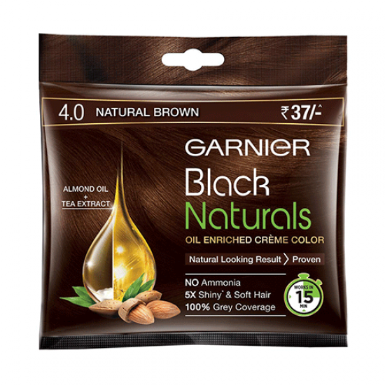 GARNIER BLACK NATURALS 4.0 NATURAL BROWN