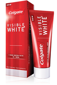 COLGATE VISIBLE WHITE TOOTH PASTE
