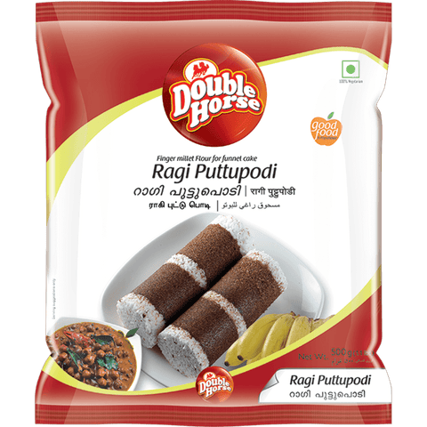 DOUBLE HORSE RAGI PUTTUPODI