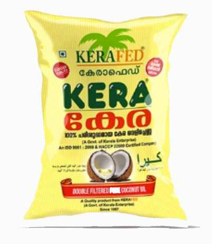 KERA DOUBLE FILTERED PURE COCONUT OIL
