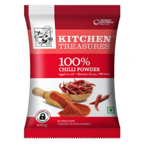KITCHEN TREASURES CHILLI POWDER