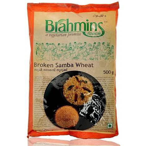 BRAHMINS BROKEN SAMBA WHEAT