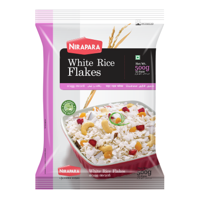 NIRAPARA WHITE RICE FLAKES