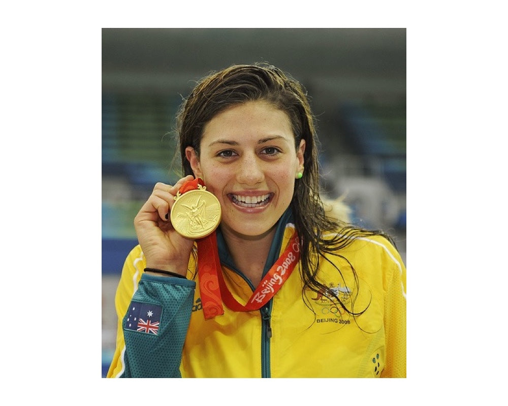 Stephanie Rice 3 Olympic medals