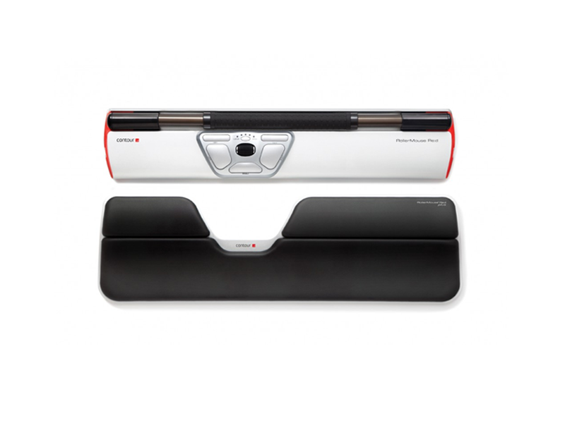 CONTOUR Roller Mouse Red