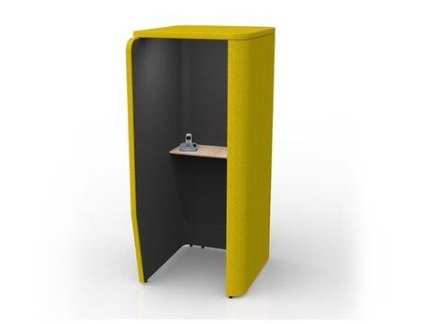 OMI OH Freestand Privacy Booth