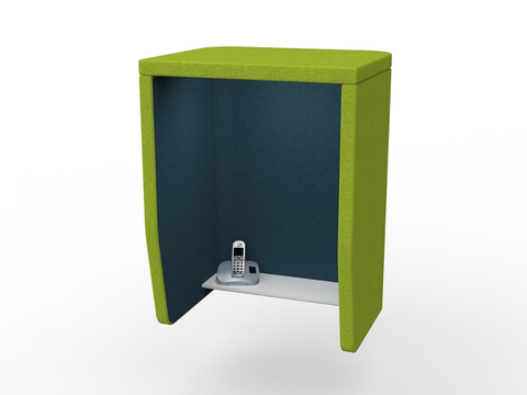 OMI OH Mounted Privacy Booth