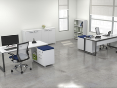 OVO 1 person Straight desk system