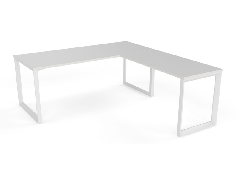 OVO 1 person L Shaped desk system