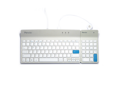 PENCLIC Wired Keyboard & Number Pad