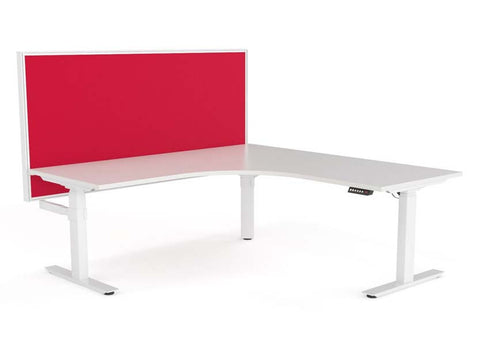 WERKWELL L Shaped desk system