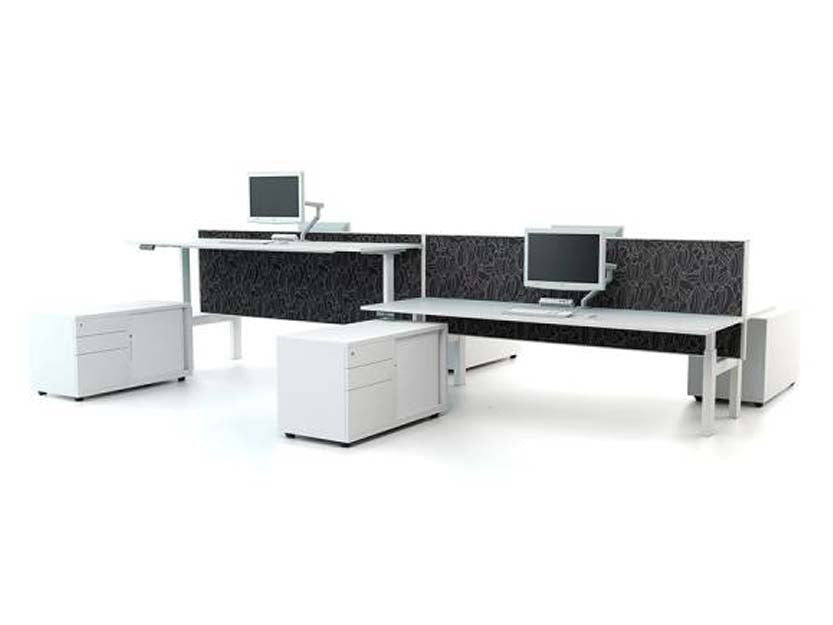 WERKWELL Back to Back desk system