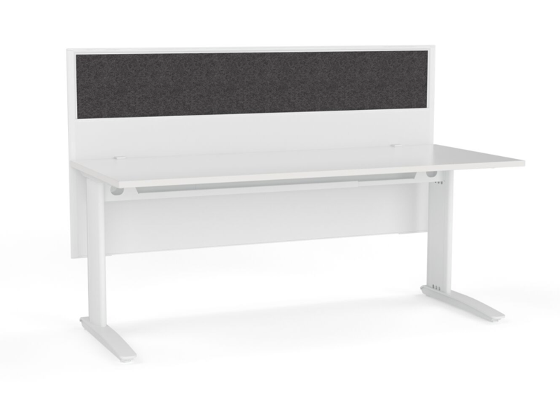 CADE 1 person Straight desk system
