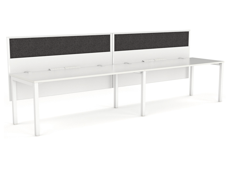 XENO 2 person Straight desk system
