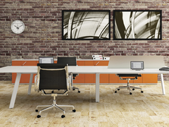 ZULU 1 to 4 person Straight desk system