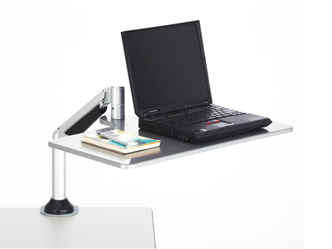 ZZ Desktop Sit-Stand With Laptop Tray
