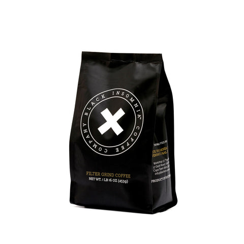 Black Insomnia Coffee - Filter Ground 1Lbs - The World's Strongest Coffee Ground