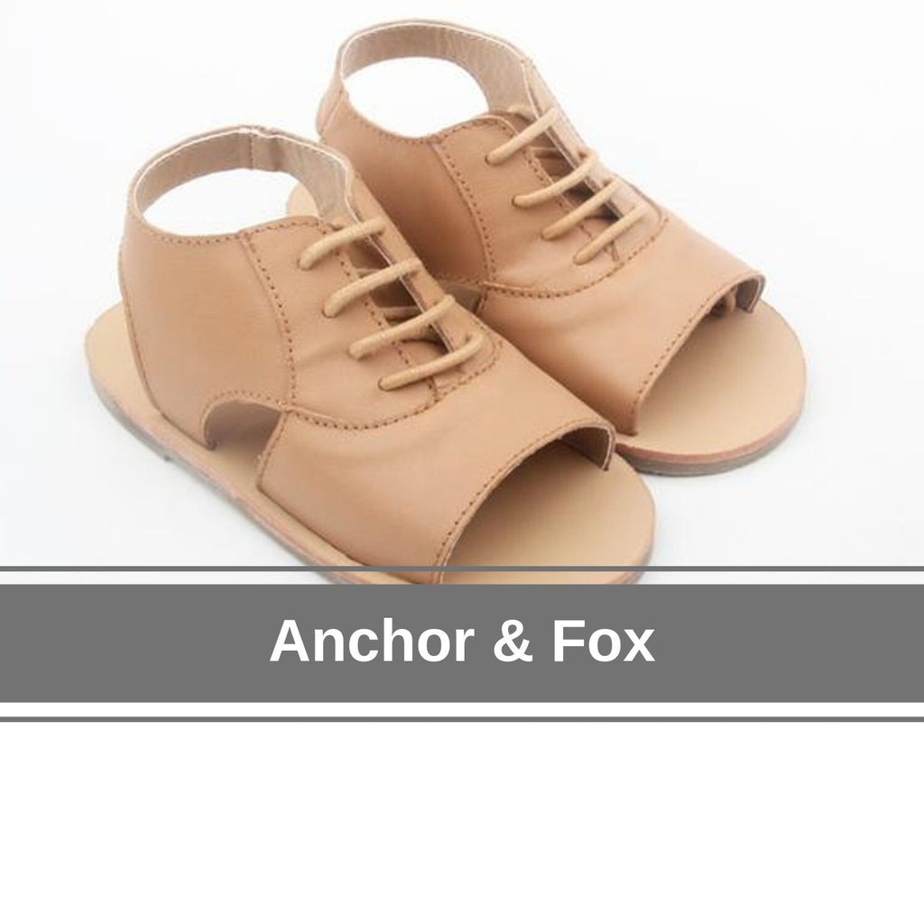 shop girls and toddler sandals by anchor and fox online