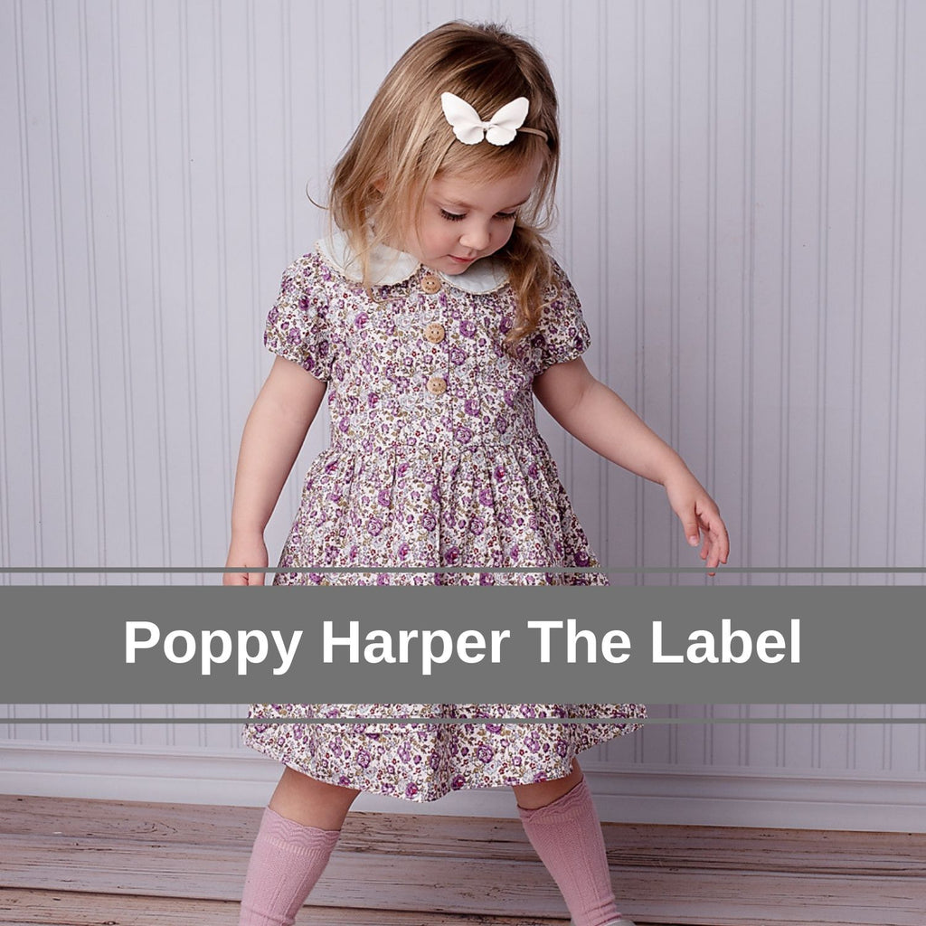 Poppy Harper The Label boutique Australian handmade girls dresses