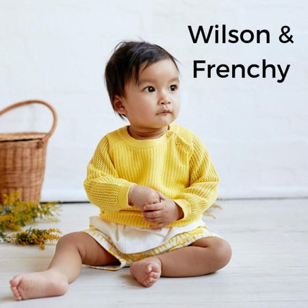 wilson and frenchy baby clothes yellow baby girl mesh summer jumper