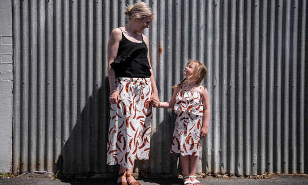 matching mother and daughter outfit by mad about mini