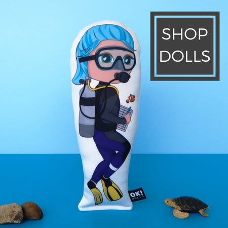 Shop OK Dolls - aspirational dolls for girls with inspirational careers