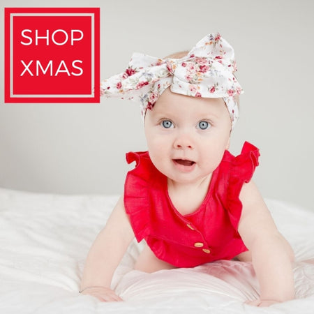 christmas outfit for toddlers red romper