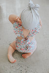 PRE-ORDER Two Darlings Baby Girl Vintage Floral Romper