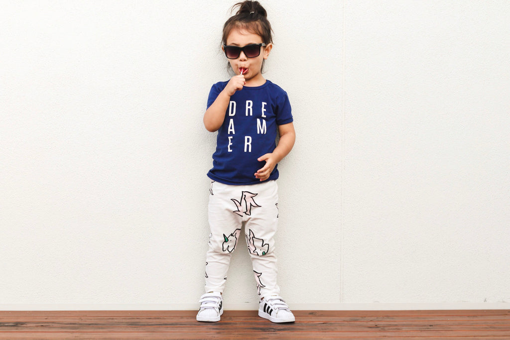 anarkid organic unicorn leggings