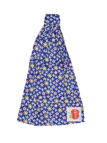 Headscarf for girls blue navy Oobi ditsy