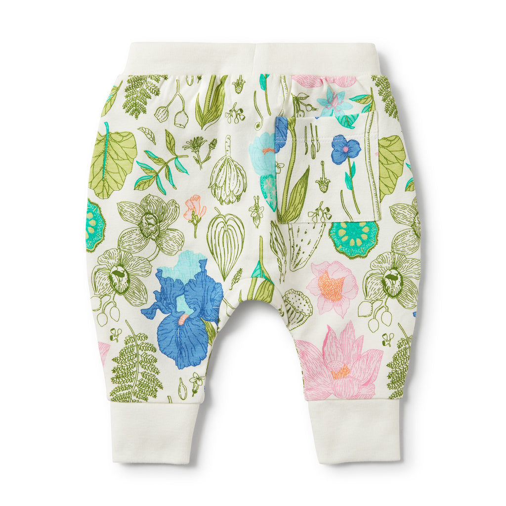 back of wilson & frenchy flora slouch pocket pants