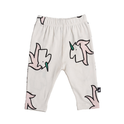 anarkid girls and baby organic leggings unicorn print