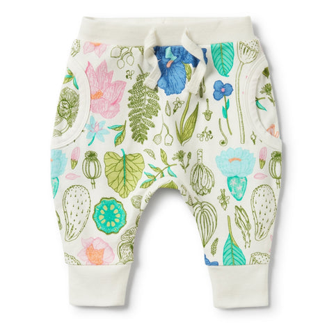 wilson & frenchy floral baby pants