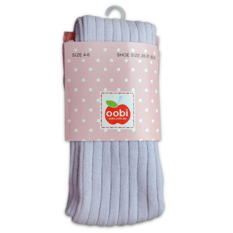 girls and toddler winter tights lilac oobi