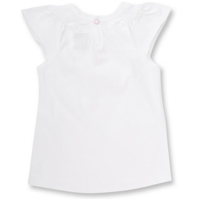 Sapling Child Vintage Rose Flutter Sleeve Tee