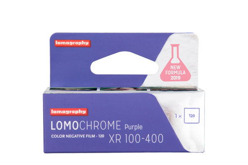 LomoChrome Purple XR 100-400 ASA/120 Single Pack