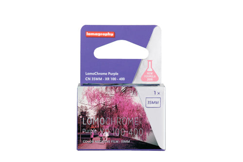 LomoChrome Purple XR 100-400 ASA Single Pack
