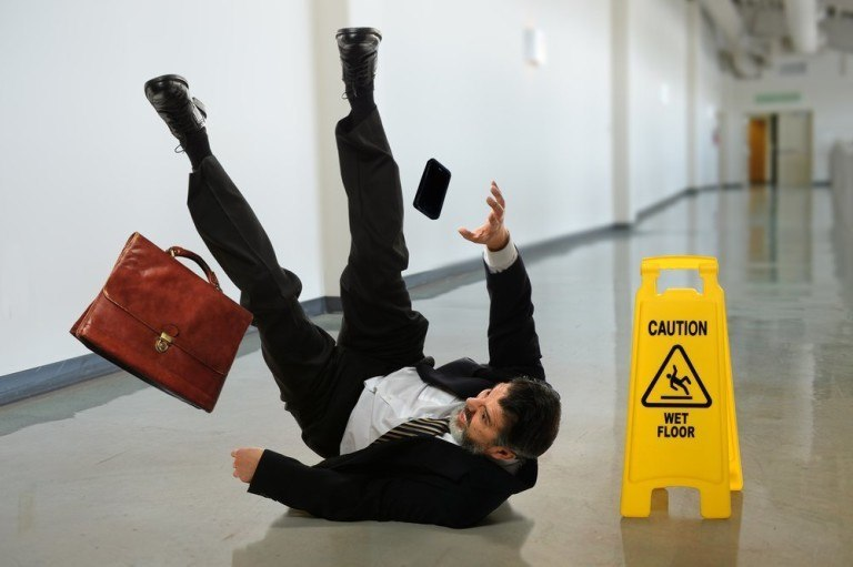 Can you be held liable for a slip and fall accident?